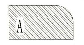 Фреза алмазная профильная А гранит спечная сегментная Diam-S