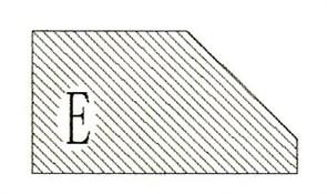 Фреза алмазная профильная E гранит спечная сегментная Diam-S