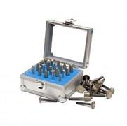 Комплект малых алмазных фрез DIS хвостовик 6 мм - 20 шт.  гальваника