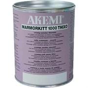 Клей для камня 1000 Thixo пастообразный стуктурный AKEMI импала темно-серый, 1 л (10432)