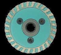 Алмазный диск для болгарки по граниту (d. 65 мм) турбо FN [М14]
