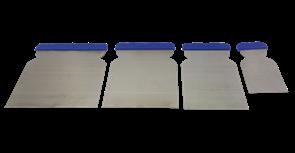 Шпатель SMX сталь/набор 4шт (50/80/100/120мм)