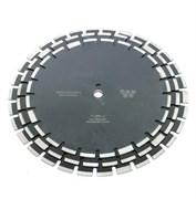 Диск отрезной алмазный по свежему бетону (d. 350 мм) сегментный DIAMASTER [25,4 мм]