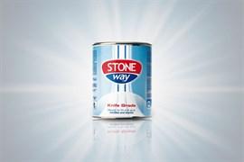 Полиэфирный клей-мастика густой Tenax Solido Stoneway Bianco (белый) 1л